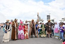 Photo of Ancient Kazakh traditions on display in the capital during ethnofest