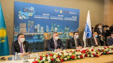 Photo of International Conference Hosted by Nur-Sultan: OSCE Called for Cooperation to Solve the Regional Challenges
