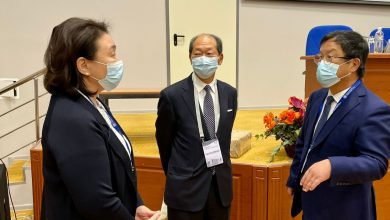 Photo of Famous cardiac surgeons visited the Heart Center as part of the Anniversary Conference